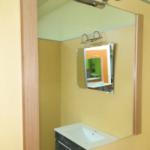 Espejo laterales roble con foco